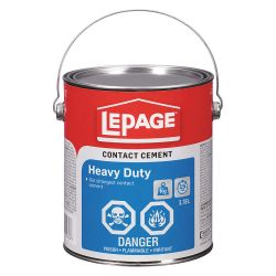 HENKEL LEPAGE 1504629, CONTACT CEMENT 3.8 L - HEAVY DUTY LCP506 1504629