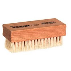 OSBORN 54079, NAIL/HAND BRUSH-WHITE TAMPICO - 3-3/4 X 1-3/4 WOOD BLOCK 54079