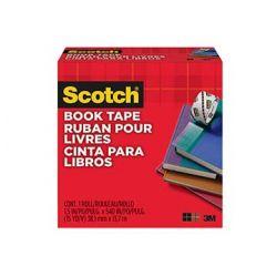 """3M 7000001558, SCOTCH BOOK TAPE 1-1/2"""" X 15YD - TRANSPARENT #845 7000001558"""