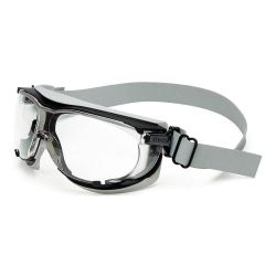 NORTH SAFETY PRODUCTS UVEX S1650D, GOGGLES - SAFETY CARBONVISION - NEOPRENE BAND/CLEAR LENS S1650D
