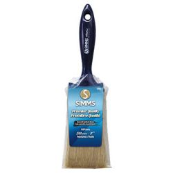 "SIMMS, TS & CO. LTD TS SIMMS & CO. 058391240055, PAINT BRUSH- 50MM/2"" #2400 - PURE CHINA BRISTLE BLUE HANDLE 058391240055"