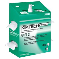 KIMBERLY CLARK KIMTECH 34644, KIMWIPES LENS CLEANING STATION - SOLD PER BOX, NOT PER CASE 34644