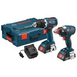 BOSCH CLPK233-181L, COMBO KIT-BRUSHLESS 2TOOL - 18V DRILL/DRIVER & IMPACT DRVR CLPK233-181L