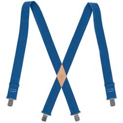 KLEIN TOOLS 60210B, SUSPENDERS, NYLON-WEB, BLUE 60210B