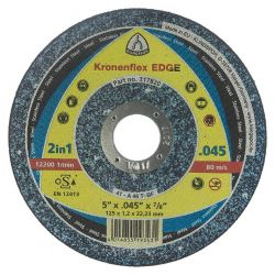 "KLINGSPOR 317820, WHEEL 5"" X .045 X 7/8 - CUT OFF TYPE 1 EDGE 317820"
