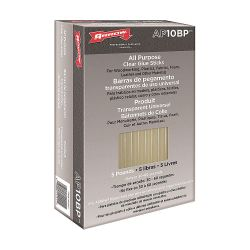 "ARROW AP10BP, GLUE STICK-ALL PURPOSE 10"" - 5 LB CASE AP10BP"