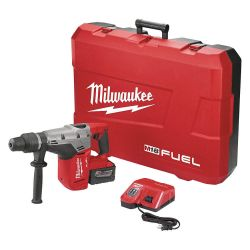 "MILWAUKEE 2717-21HD, ROTARY HAMMER KIT 1-9/16"" - M18 FUEL 9.0 AH SDS MAX 2717-21HD"