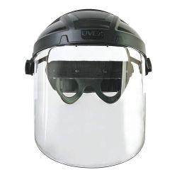 HONEYWELL UVEX S9550, PC VISOR-UNCOATED - UVEX TURBOSHIELD CLEAR - S9550