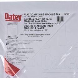 """OATEY 34051, WASHING MACHINE PAN - PLASTIC 28"""" X 30"""" 34051"""