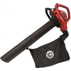 KING TOOLS 8500BVM, 3 IN 1 VAR. SPEED BLOWER/VAC - MULCHER 8500BVM