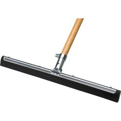 "FLOOR SQUEEGEE-STRAIGHT 30"" - FOAM BLACK HEAVY DUTY (MUS)"