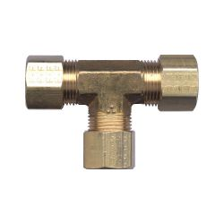 FAIRVIEW 64-4, COMPRESSION TEE- 1/4 TUBE 64-4