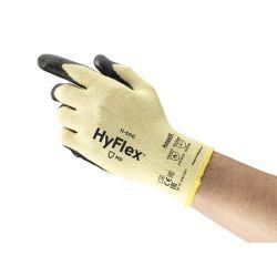ANSELL HYFLEX 11-500-9, GLOVE-NITRILE PALM COATED - HYFLEXCR FOAM KEVLAR SIZE 9 11-500-9