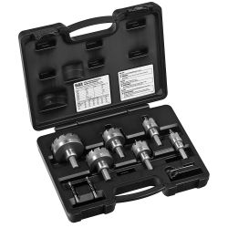 KLEIN TOOLS 31873, 8-PIECE MASTER ELECTRICIAN'S - HOLE CUTTER KIT 31873