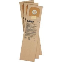 DEWALT D279042, PAPER FILTER BAG FOR D27904 D279042
