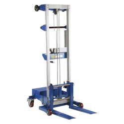 VESTIL A-LIFT-CB, HAND WINCH LIFT TRUCK - COUNTER BALANCE 500LB CAP A-LIFT-CB