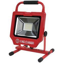 KING TOOLS KC-3601LED, WORKLIGHT- LED 3600 LUMENS - 30W 120V 5' CORD KC-3601LED