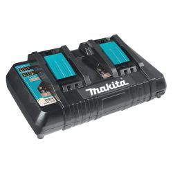MAKITA DC18RD, BATTERY CHARGER-DUAL PORT - 2 X 18V LI-ION W/USB PORT DC18RD