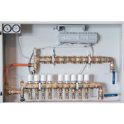 HYDRONIC PANEL SYSTEMS 940, #940 HYDRONIC PANEL 3 LOOP - MULTI ZONE MANIFOLD W/ACTUATOR - 940