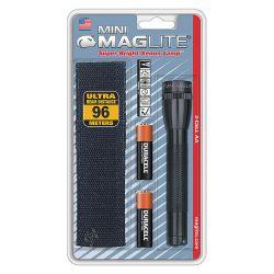 MAGLITE M2A01H, FLASHLIGHT-MINI MAG W/HOLSTER - 1.5 VOLT 'AA' SIZE M2A01H