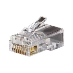 KLEIN TOOLS VDV826602, MODULAR DATA PLUG - RJ45 - CAT5E PACK OF 25 VDV826602