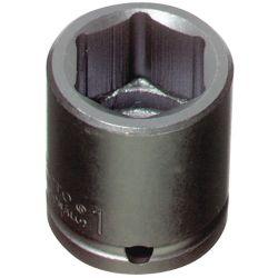PROTO J7415M, SOCKET-IMPACT-STD LEN 6 PT - 15MM 1/2 DRIVE J7415M