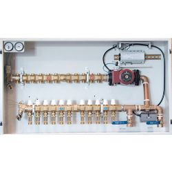 HYDRONIC PANEL SYSTEMS 968, RECIRCULATING ZONE CONTROL - PANEL 11 LOOP W/CIRCULATOR 968