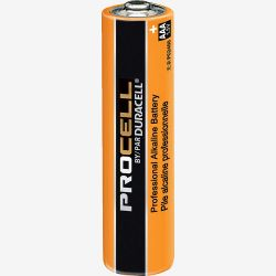 DURACELL 5LE25, BATTERY-INDUSTRIAL ALKALINE - 1.5 VOLT *** AAA SIZE *** 5LE25