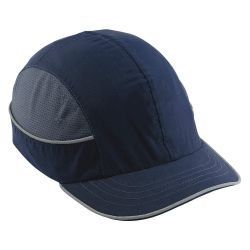 ERGODYNE 23343, BUMP CAP - SHORT BRIM - NAVY - 23343
