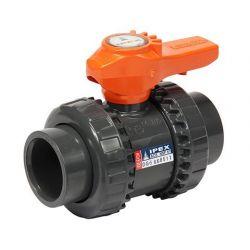 IPEX 353007, BALL VALVE-PVC TU 1-1/4 -SOC WELD/THREADED 353007