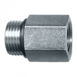 CONNECTOR - STEEL - 7/8 14 ORBX1/2FPT #720FSO10-8