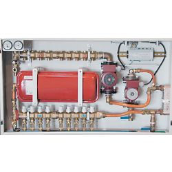 HYDRONIC PANEL SYSTEMS 901, CONTROL PANEL 4 LOOP - WITH HEAT EXCHANGER 901