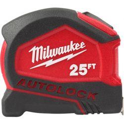 MILWAUKEE 48-22-6825, TAPE MEASURE - 25' AUTO LOCK 48-22-6825