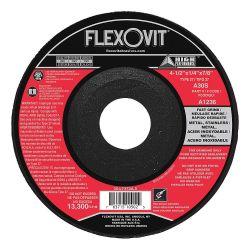 FLEXOVIT A5356, WHEEL 7 X 1/4 X 7/8 - T-27 A30S DEEP CTR GRINDING A5356