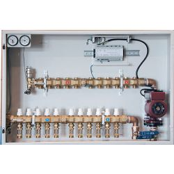 HYDRONIC PANEL SYSTEMS 982, #982 SNOWMELT PANEL - 5LOOP - MANIFOLD STATION W/CIRCULATOR - 982