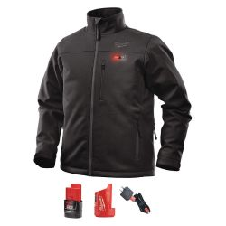 MILWAUKEE 202B-212X, HEATED JACKET KIT-TOUGHSHELL - M12 BLACK 2XL 202B-212X
