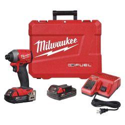 "MILWAUKEE 2853-22CT, IMPACT DRIVER CP KIT 1/4"" HEX - M18 FUEL 2853-22CT"
