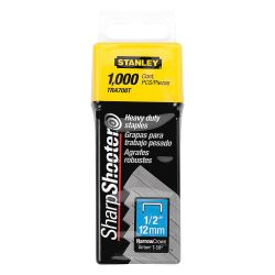 STANLEY TRA708T, STAPLES- 1/2 - FITS T50, TR150 1000/PKG TRA708T