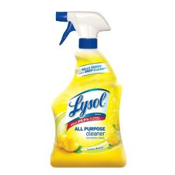LYSOL 4520-236, CLEANER-LYSOL 650 ML - LEMON SCENT-TRIGGER SPRAYER - 4520-236