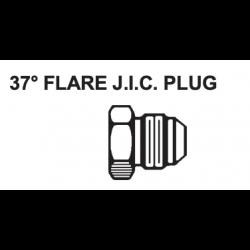 "PAULIN / DOMINION FITTINGS DS358-8, STEEL JIC PLUG 1/2"" - 03CP-8 - DS358-8"