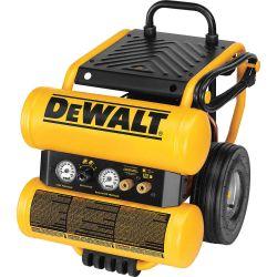 DEWALT D55154, COMPRESSOR-AIR ELECT. 1.1 HP - 4.0 GALLON TANK 90 PSI D55154