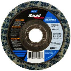 SAINT-GOBAIN NORTON 20546, DISC-RAPID FINISHING - SUPER FINE 4-1/2X7/8 - 20546