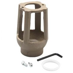"""WATTS WATER TECHNOLOGIES 909AG-F, AIR GAP FOR WATTS LF009QT - 2"""" RED-PRES-BACKFLOW 909AG-F"""