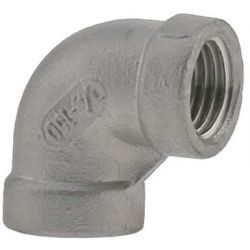 BOSHART INDUSTRIES SS316E-01, ELBOW- 90 DEG TYPE 316 1/8 - STAINLESS STEEL CLASS 150 SS316E-01