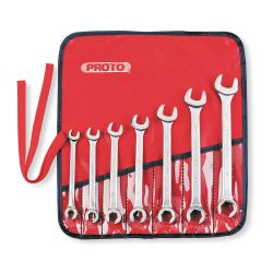 PROTO J3700AT, FLARE NUT WRENCH SET 7PC - 3/8 TO 3/4 J3700AT