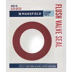MANSFIELD PLUMBING 206300030, SEAL-FLUSH VALVE MANSFIELD - RED FOR 210/211 206300030