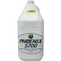 PHOENIX 57010P, WATERLESS SKIN CLEANER #5700 - 4 L ORANGE W/SCRUBBERS PB - 57010P