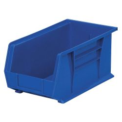"""AKRO-MILS 30240BLUE, AKRO BIN BLUE - 8-1/4""""W X 7""""H X 14-3/4""""L 30240BLUE"""