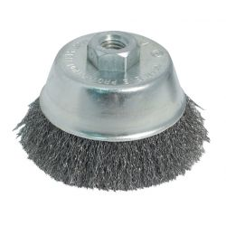 """WFS APPROVED 45114, WIRE CUP BRUSH 4"""" DOUBLE KNOT 45114"""