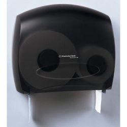 KIMBERLY-CLARK 09551, JRT COM. BATH TISSUE DISPENSER - SMOKE GREY CORED (1/CS) 09551